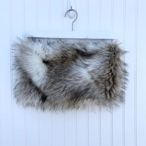 Loft Faux Fur Infinity Scarf - Snood - Collar